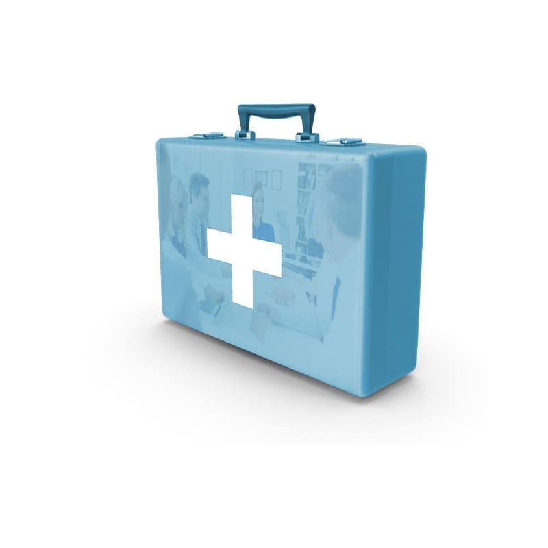 Blå Førstehjælpskursus pakke hos FirstHelp